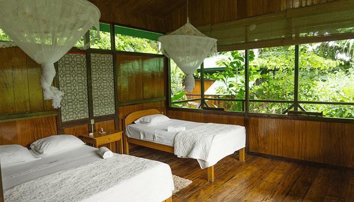Tambopata Lodge Bedroom